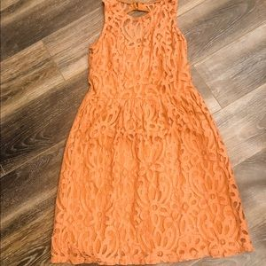 Dresses & Skirts - Rust colored kalijati lace dress